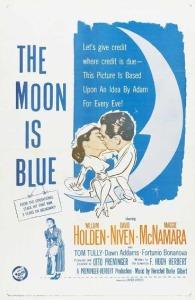 la luna es azull